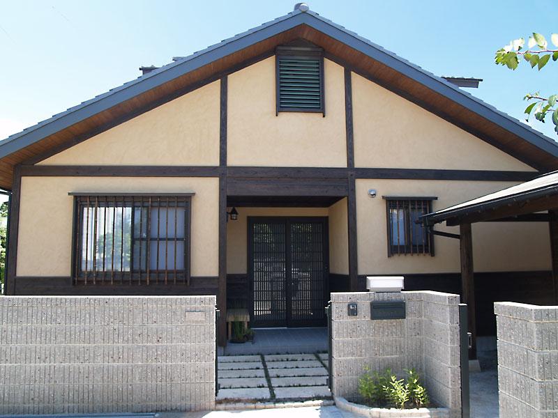和風モダンスタイルの家