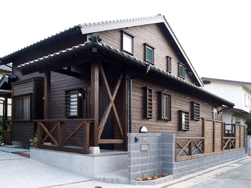 自然素材の木の家