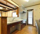 LDK 対面式キッチン
