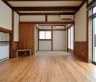 LDK~和室 床は杉浮造り仕上げ