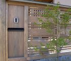 数寄屋門の横壁及び塀 当社オリジナルデザイン