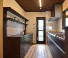 キッチン 食器棚は当社オリジナル